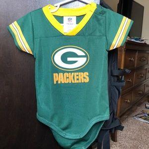 Packers 18 month onesie